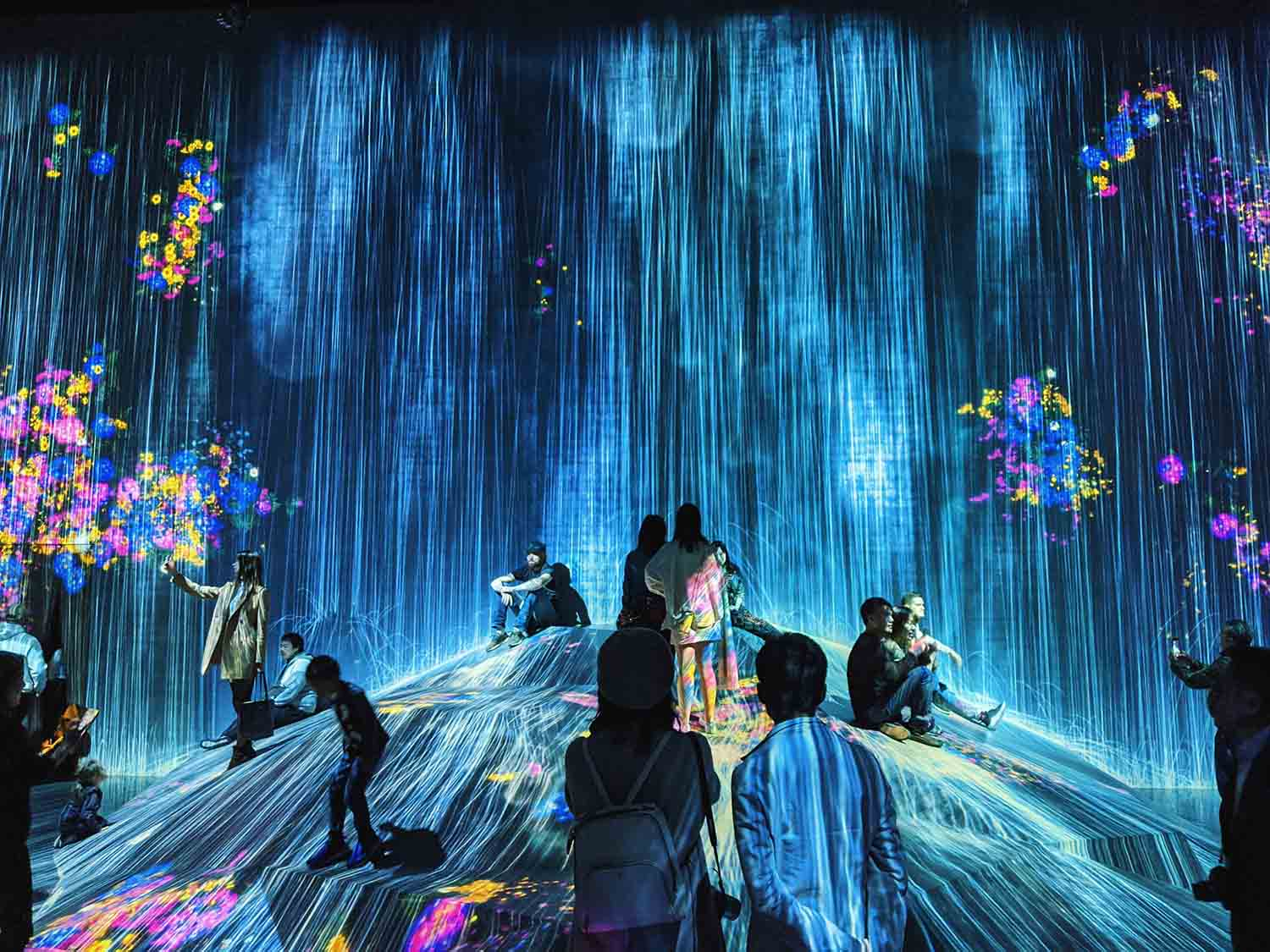 digital art showing people dancing on stage